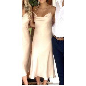 Show Me Your Mu Mu Verona Cowl Dress